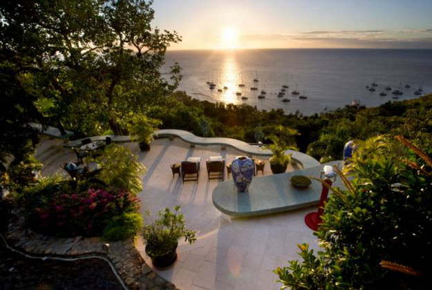 The Mandalay Estate on the island of Mustique