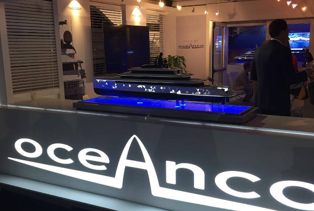 The model of the Moonstone at the 2016 Dubai Boat Show.