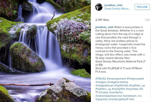Great Smoky Mountains National Park as part of the 59 Parks in 52 Days Project is part of Jonathan Irish's project documented on their website and Instagram