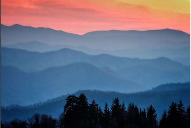 Great Smoky Mountains National Park as part of the 59 parks in 52 days project