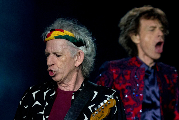 The Rolling Stones in Mexico as part of their Ole tour