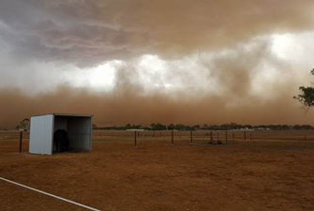 Dust storms ravage southern Australia
