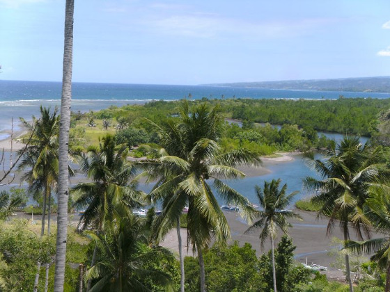 Sulawesi coastline is perfect for eclipse watching
