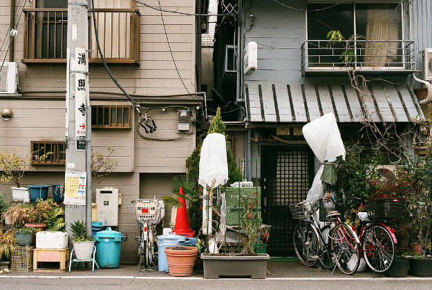Homes in Toyko.