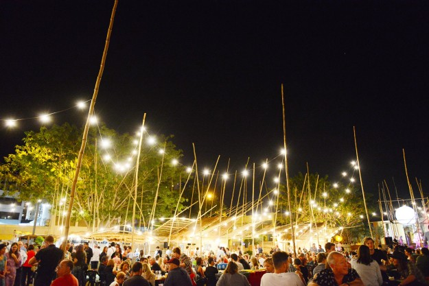 Darwin's tropical climate means you can enjoy the outdoor events at night.