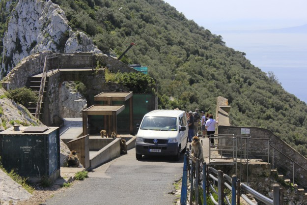 The Rock of Gibraltar is a major attraction for visitors