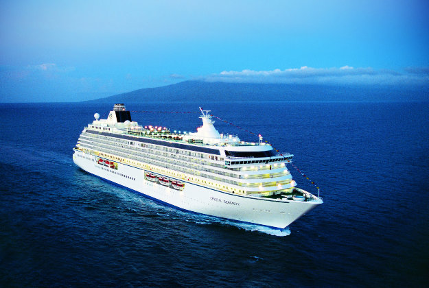 Crystal Serenity set to navigate icy waters this summer.