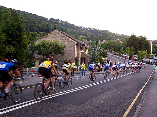 No room at the inn for lycra-clad cyclists.