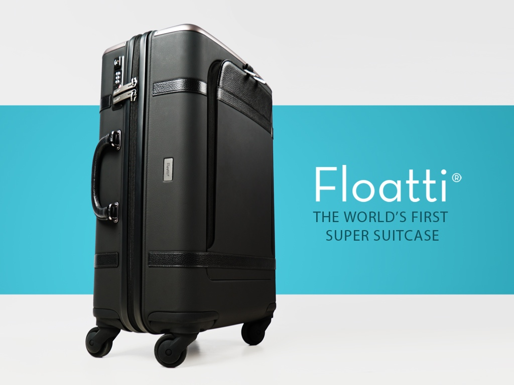 LA company creates smart luggage for travellers