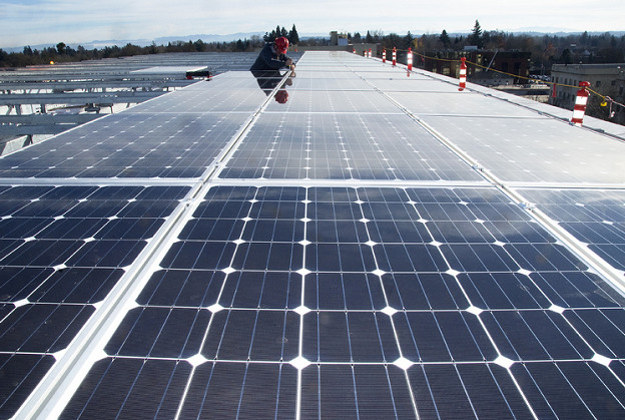 Solar panels to play a major role in European road construction.