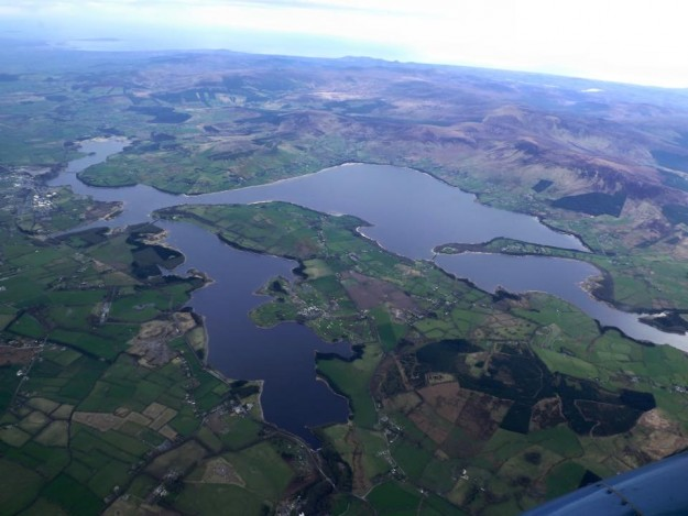 The Blessington Lakes, Co Wicklow.