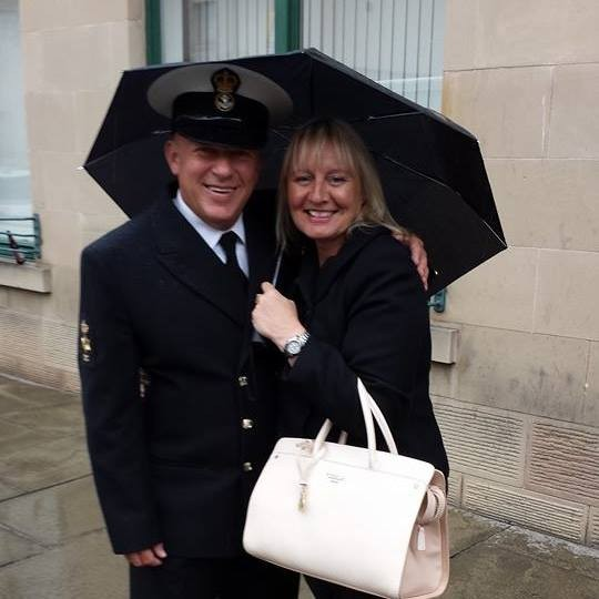 Billy Somerville and Rhona McWilliam