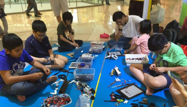 The Lego certified store in Malaysia runs Mindstorms to help children learn robotics.