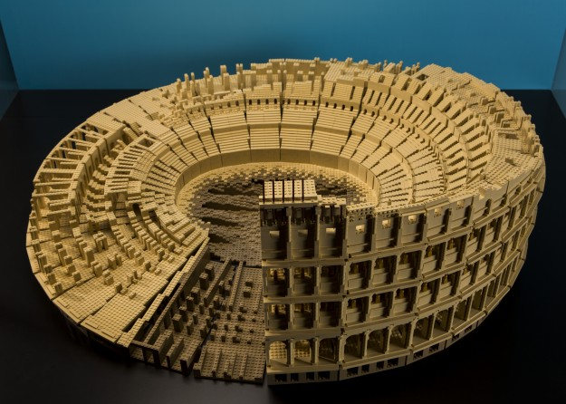 The Roman Colosseum is one of more than a dozen structures in Brick by Brick.