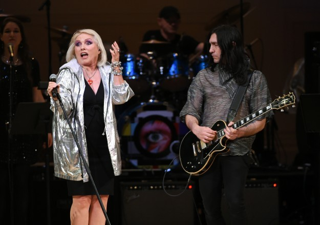 Debbie Harry performs at The Music of David Bowie tribute concert at Carnegie Hall