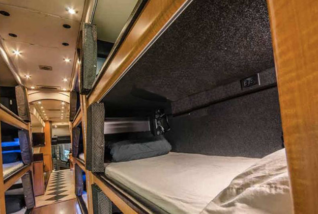 SleepBus plans to take travellers from LA to San Francisco while they sleep.