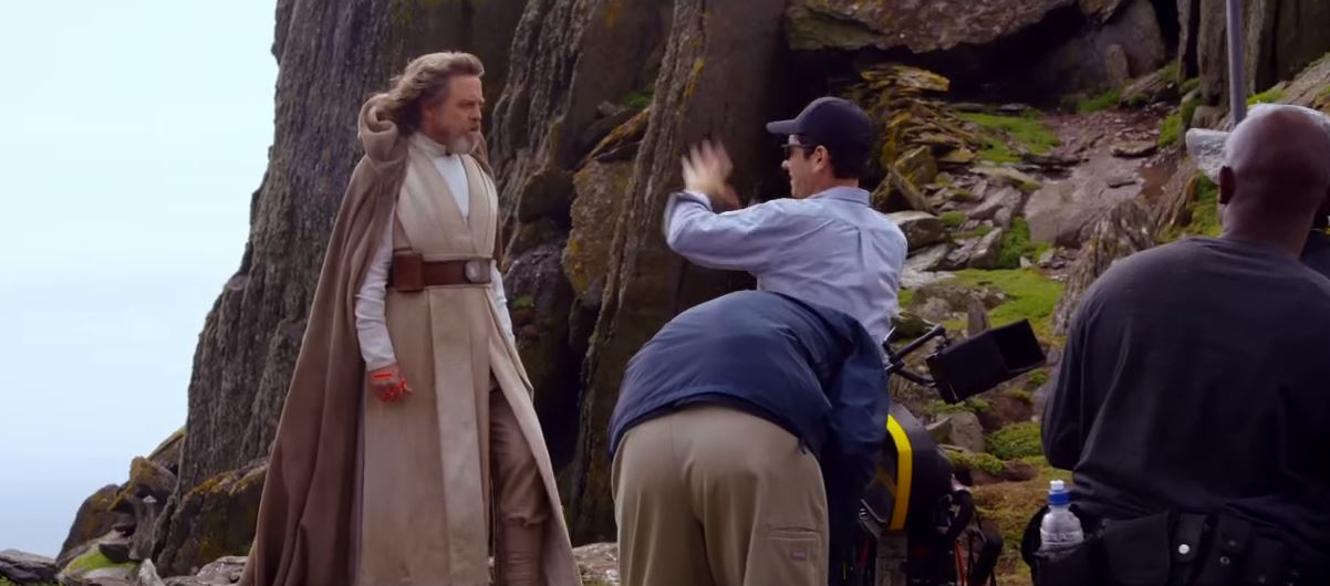"""Mark Hamill said: """"Going to Skellig island, it's just indescribably beautiful."""""""
