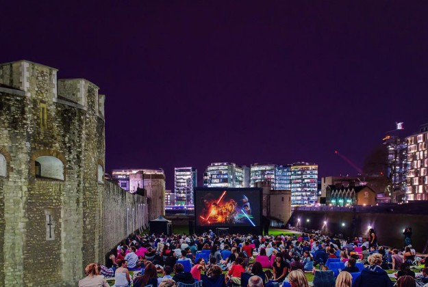 Outdoor movies london
