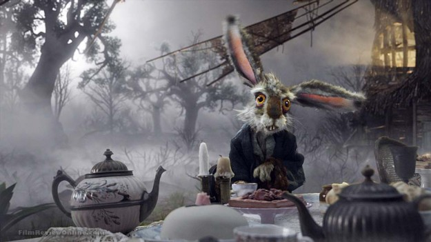 The March Hare at Tim Burton's Alice tea party.