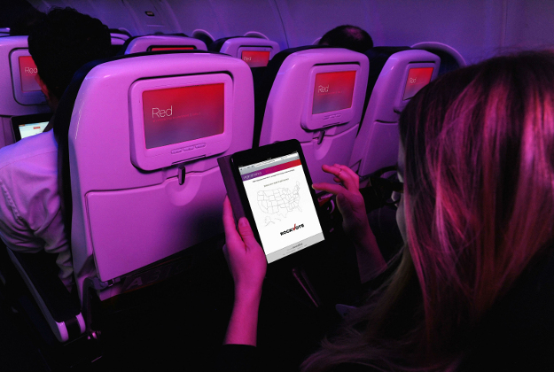 Virgin America will allow people to register to vote in flight.