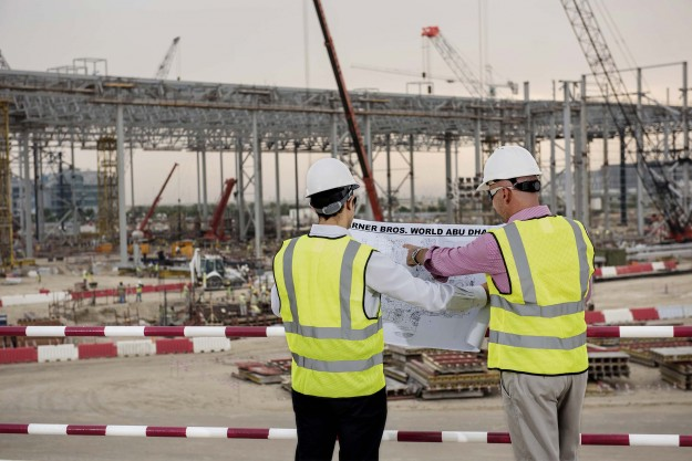 Construction of Warner Bros. World Abu Dhabi will be completed in 2018.