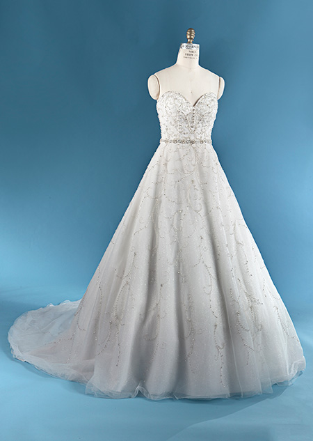 The Cinderella-inspired wedding dress from the 2016 Disney Bridal Boutique,