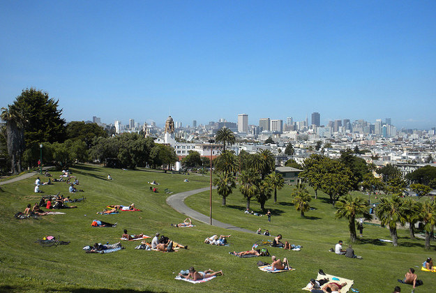 Dolores Park, San Francisco.