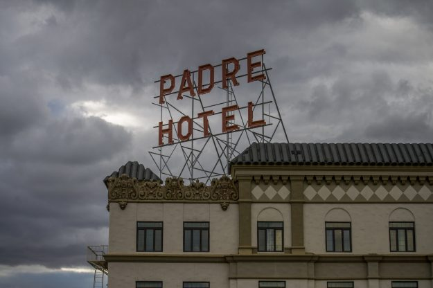The Padre Hotel in downtown Bakersfield