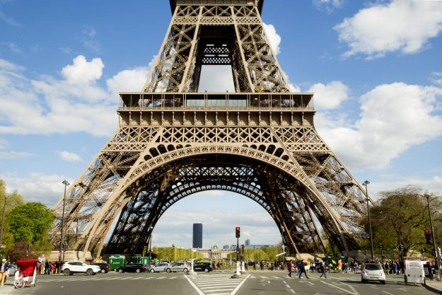 HomeAway is offering a stay at the Eiffel Tower.