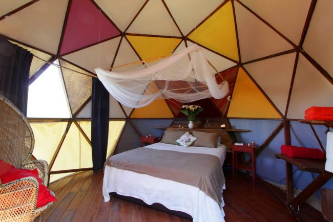 Geodesic Dome, Andalusia, Spain. Image: Airbnb