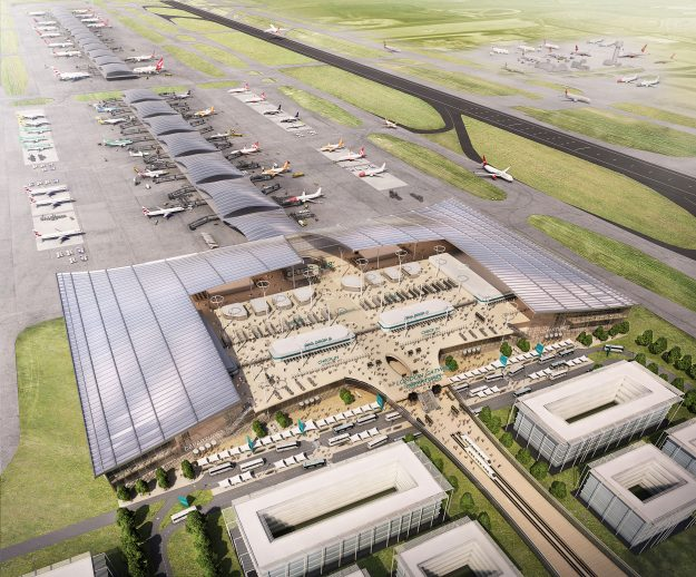 Image of the proposed expansion at Gatwick.