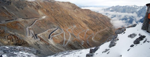 The Stelvio Pass in Italy was included as a recommendation for Best Mountain Road.