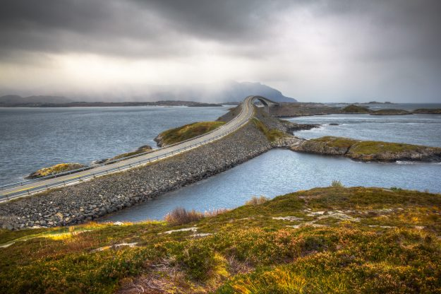 The Atlantic Ocean Road in Norway has been named the best summer drive in Europe