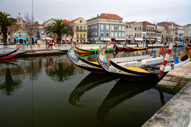 Aveiro is known as the Venice of Portugal.