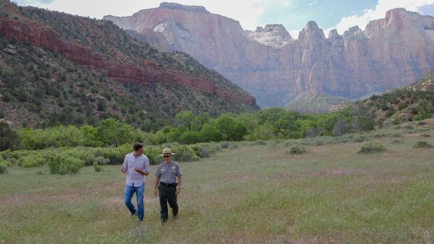 Conor with Jeff Bradybaugh to Zion National Park