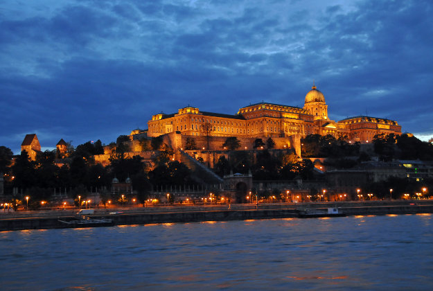 Castle Hill, Budapest, Hungary.