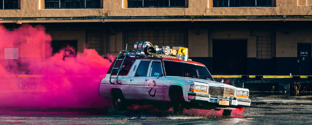 Lyft's latest promotion will let users hail and Ecto-1 from the Ghostbusters film.