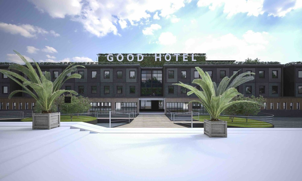Artist Impression Of The Good Hotel In London