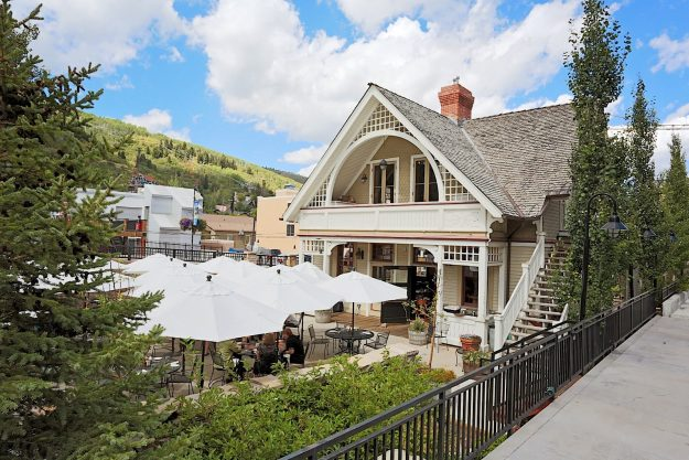 Robert Redford's restaurant is situated in a historical railroad station.