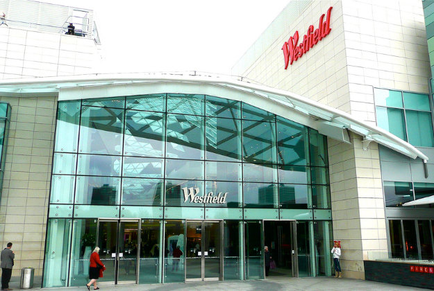 Westfield shopping centre, London.