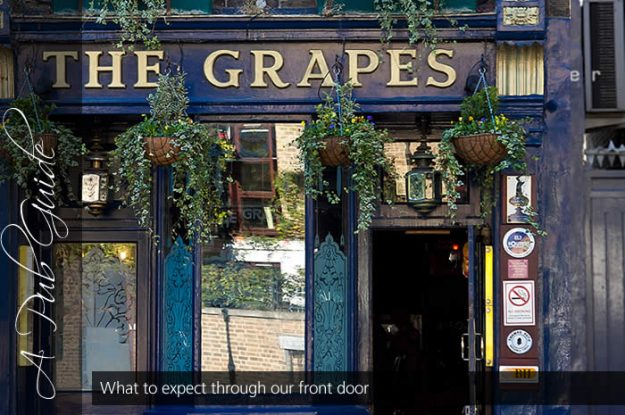 The Grapes is a long-standing traditional pub in London's East End.