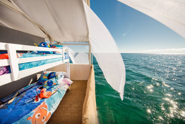 Kids will get to enjoy a night on the reef.