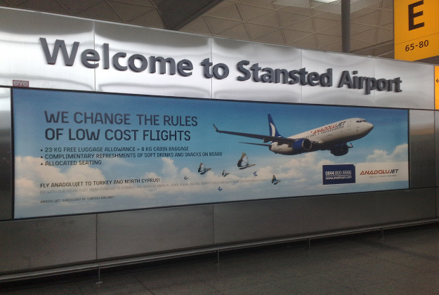 The Stagnated flights are being introduced as a service for the large Indian population in the London area