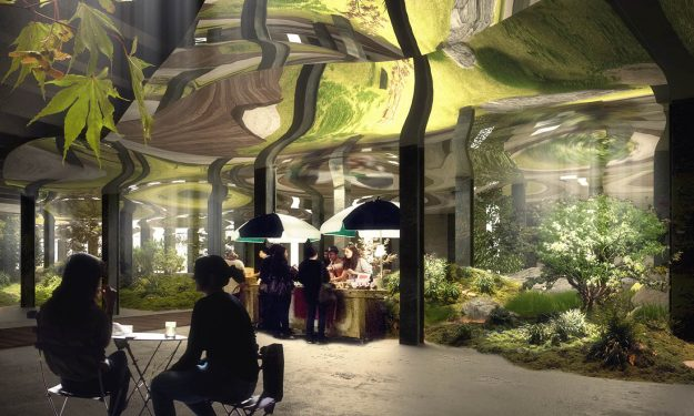 Concept drawing of the Lowline