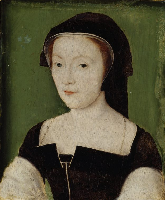 This portrait of Mary of Guise by Corneille de Lyon at the Scottish National Portrait Gallery is just one of the potential fakes.