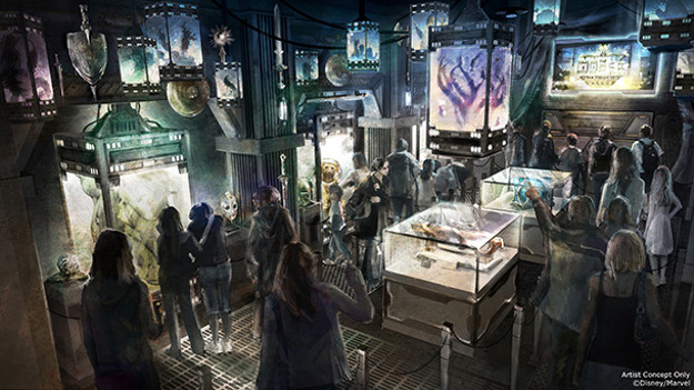 A Guardians of the Galaxy attraction will open in California.
