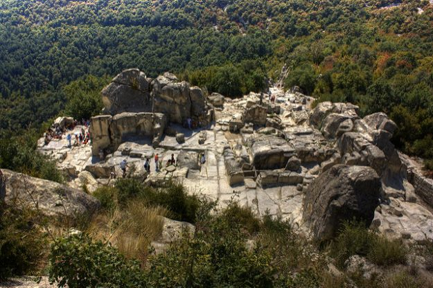 Ancient Thracian site of Perperikon.