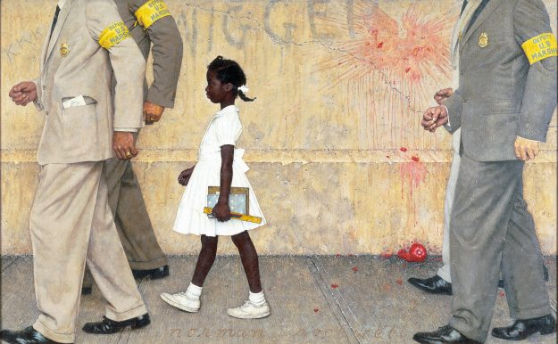 Norman Rockwell (1894-1978), The Problem We All Live With, 1963.