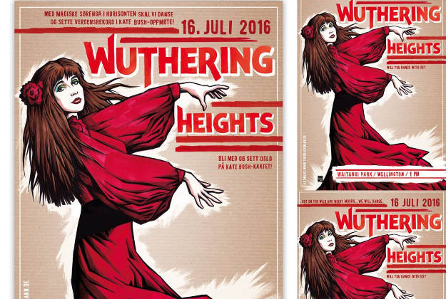Kate Bush fans celebrate Wuthering Heights this weekend.