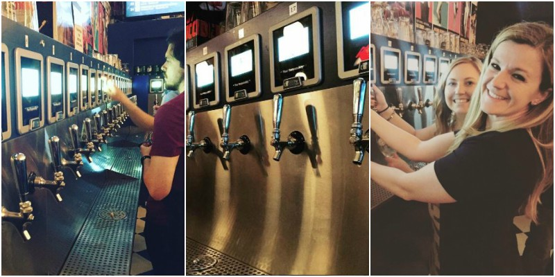 Craft Beer Bar In New York Where You Pour Your Own Beer
